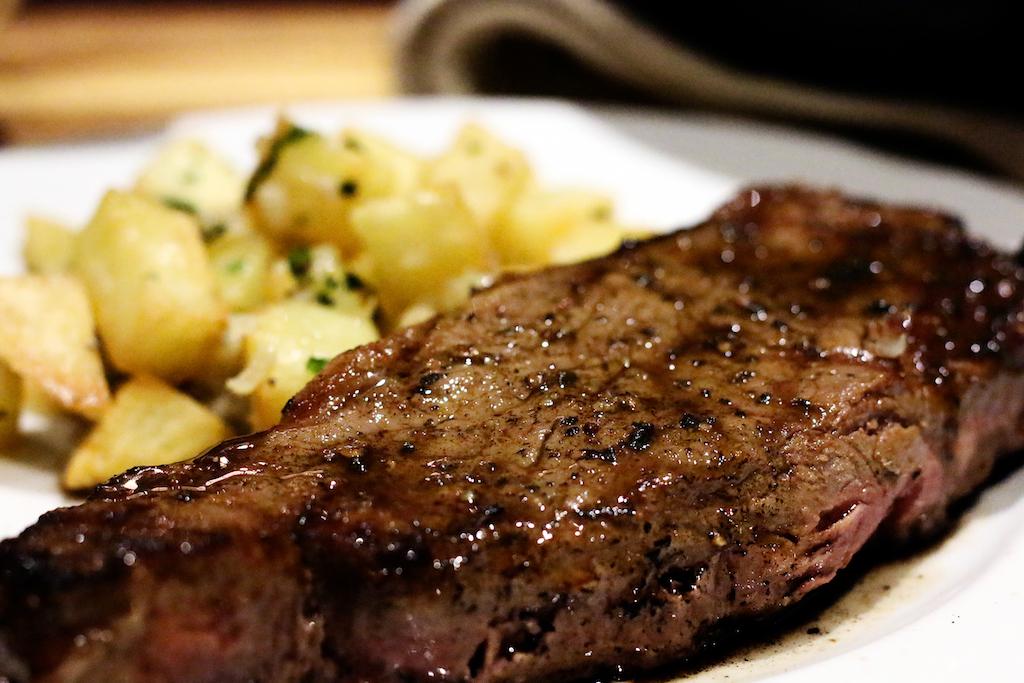 Steak maman blanc